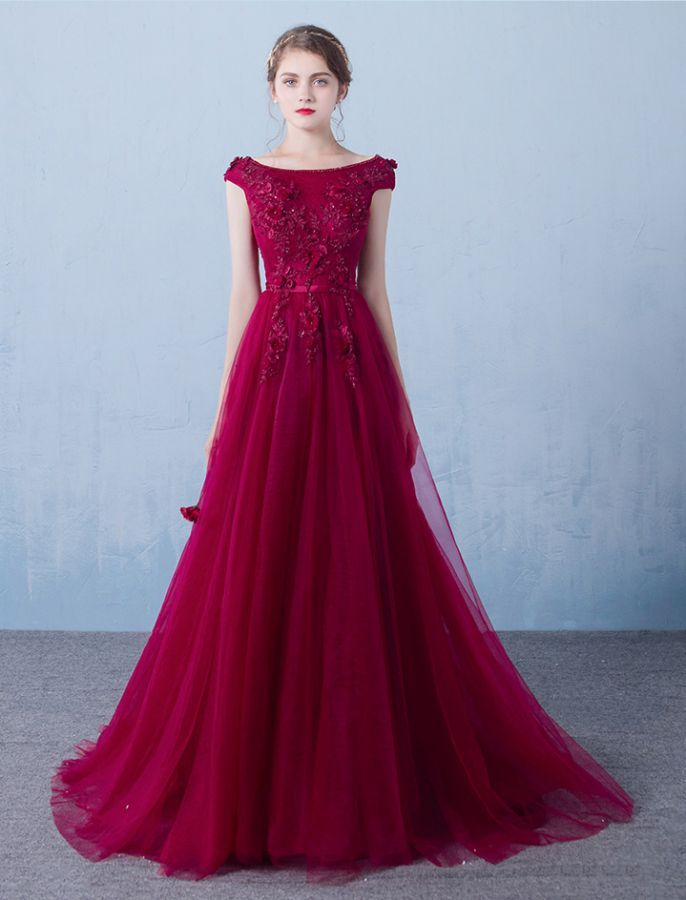 50s Inspired Romantically Yours Lace Prom Dress