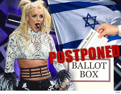 OMG! You wont believe that Israel postpones their national election because of music concert