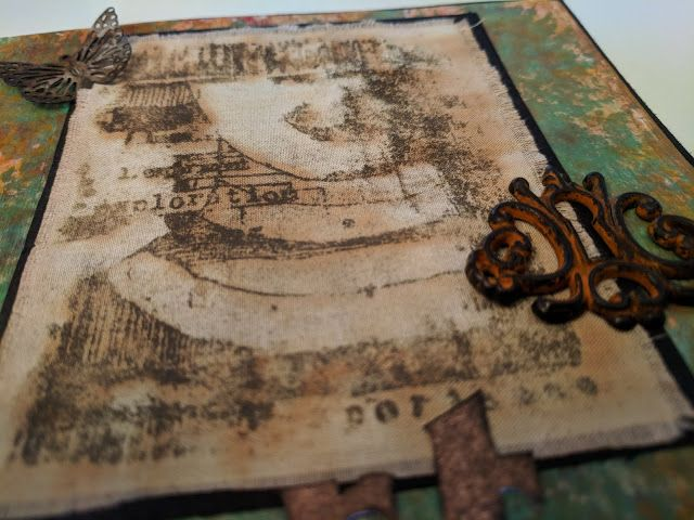 PaperArtsy: 2017 #16: Rusting Fabric with EEA {by Miriam Grazier}