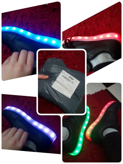 Online-Shop Hausschuhe Led Usb schuhe leuchten Hausschuhe tun mit Leuchtet schoenen Led tenis simulation Kinder Korb Leucht Turnschuhe  Aliexpress Mobil