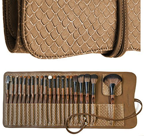 LA FERRA | Professional Makeup Brush Set | Cosmetic Make Up Brushes | Beauty Blender | Cleaning Mat | Travel Holder Organizer Case | Best Gift for Girl | Full Face and Eye Kit | 21 Pcs. Perfect tools to make a master piece with your make up. eyeshadow brushes their uses,  beauty makeup tools brushes face,  beauty makeup tools brushes,