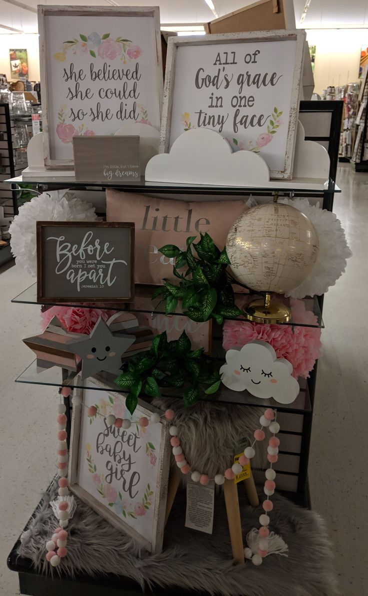 Baby display place card holders place cards hobby lobby