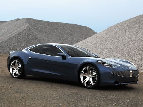 The 2011 Fiskar Karma. A 4-door sports car.. 60 mph in 4.2 or something ridiculous like that. Yep, my new 'must have' car.