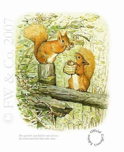 Beatrix Potter - Squirrel Nutkin