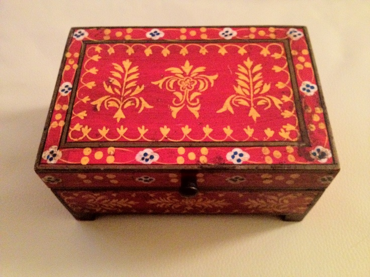 Indian BoxBoxes India, Indian Decor, Indian Boxes, Colors Jewelry, Jewelry Boxes