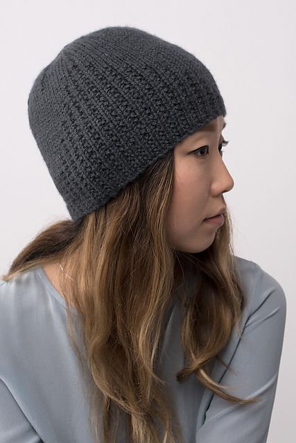 Shibui Knits FW15 | Spire by Shellie Anderson, knit with Shibui Maai and Shibui Staccato held together throughout.