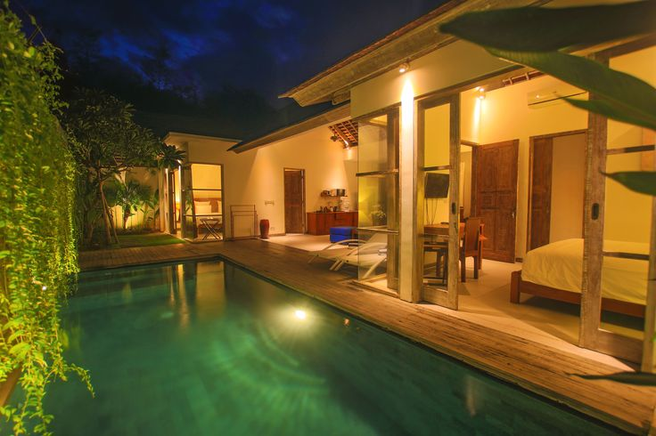 2 bedroom villa with private swimming pool at The Decks Bali Villas, Bali. You can book our private pool villas online at www.thedecksbali.com or through the Book Now button on our Facebook page. For more details email us at info@thedecksbali.com #Bali #Legian #Seminyak #villas #holiday #travel #beach #vacation #BeachVacation #pool