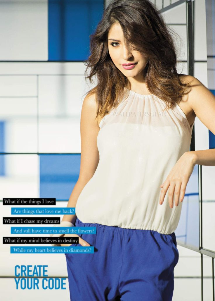 Anushka Sharma Code By Lifestyle Photoshoot