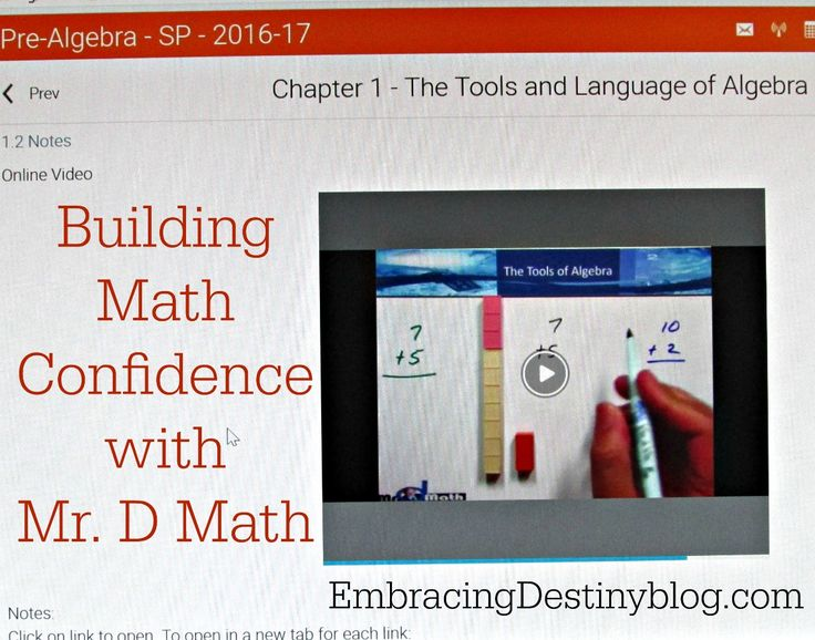 Our experience with Mr. D Math Pre-Algebra online class for homeschoolers. Excellent math course for building skills and confidence.
