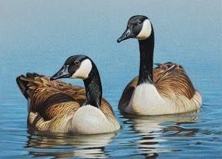 George Lockwood's Daily Paintings: 2011 Michigan Ducks Unlimited Sponsor Print - orig...
