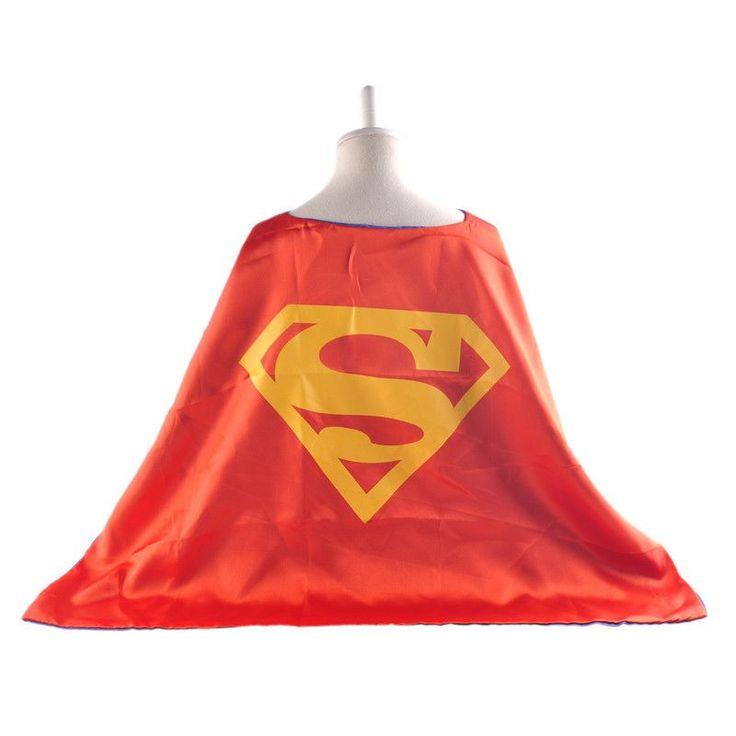 1 cape Novelty superman cape for boys spiderman cape kids superhero capes costume superhero suits for kids boys suit gift sets