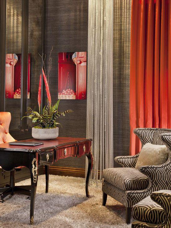 hollywood glamour meets modern modern home office san diego lori gentile interior design