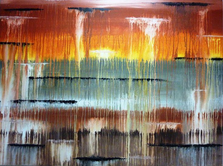 Meltdown Abstract Artwork
