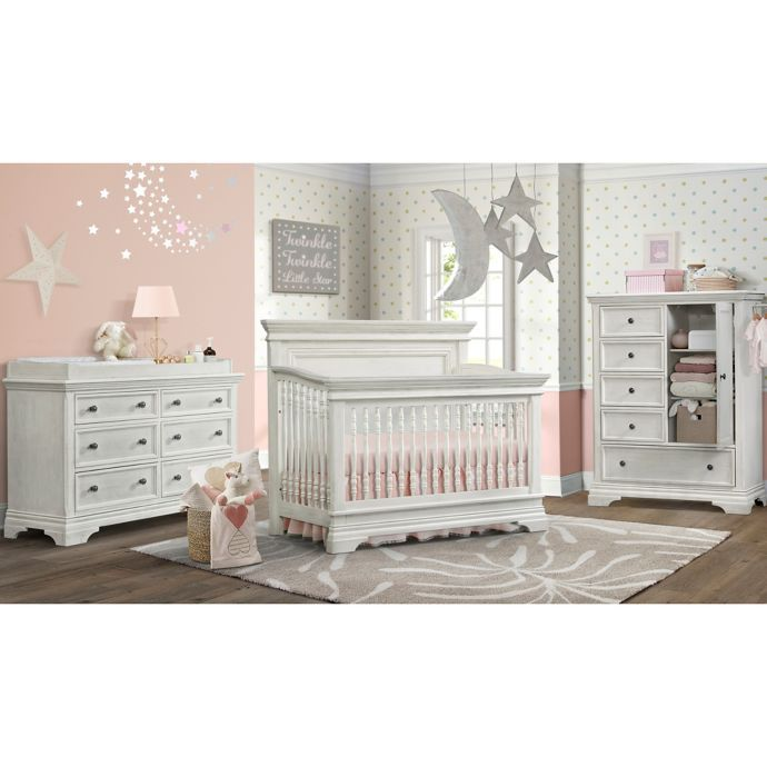 Nursery Furniture Collection In Brushed