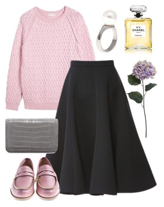 На романтике by karlusha1488 on Polyvore featuring polyvore, fashion, style, Chinti and Parker, Nancy Gonzalez, DIANA BROUSSARD, Chanel, Pier 1 Imports and clothing