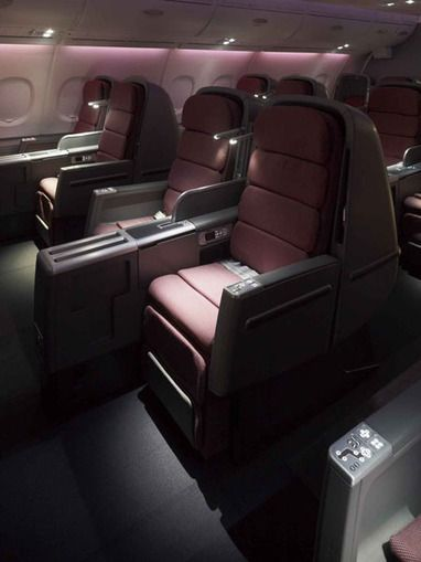 Business Class Sat on Qantas A380