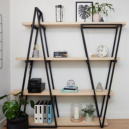 HOME DZINE Home DIY | DIY Industrial-Look Shelf
