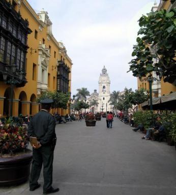 Stemningsbillede fra Lima i Peru