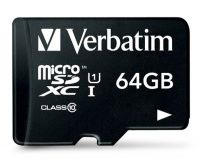 Verbatim 44084 Class 10 Micro SDXC with Adapter The Verbatim 44084 Class 10 Micro SDXC with Adapter - 64GB is currently the smallest form factor of memory card available. The microSDXC (SD eXtended Capacity) memory card is designed to handle large  http://www.MightGet.com/may-2017-1/verbatim-44084-class-10-micro-sdxc-with-adapter.asp