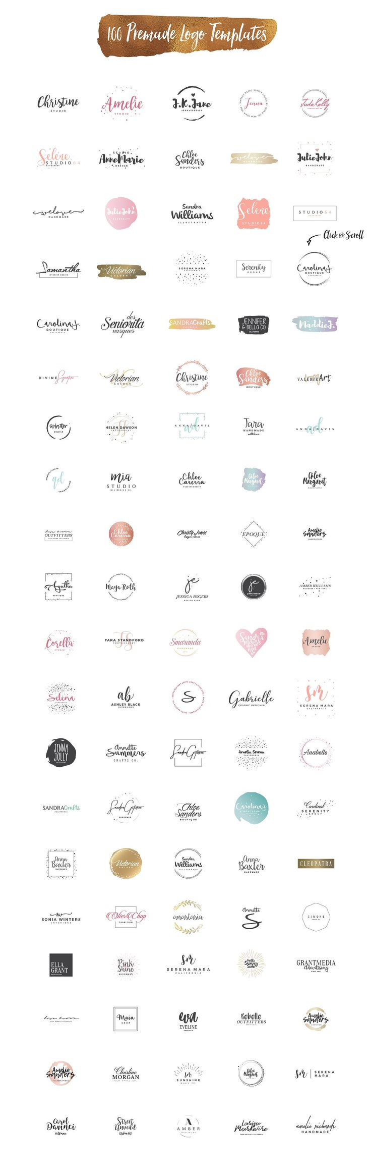 Logo Creation Kit Bundle Edition by Zeppelin Graphics on @creativemarket #ad