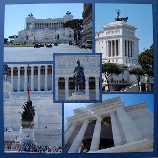 Envie de scrap: Monument à Victor Emmanuel II