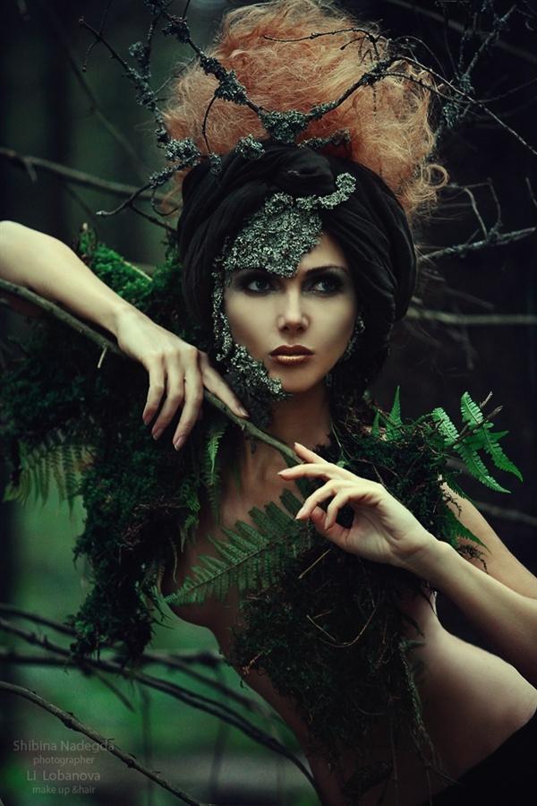 фотосессия в стиле ведьмочки октагоне