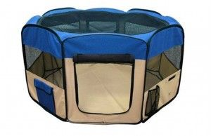8.Pingkey Blue Color Portable Pets Soft-Sided Carriers bag