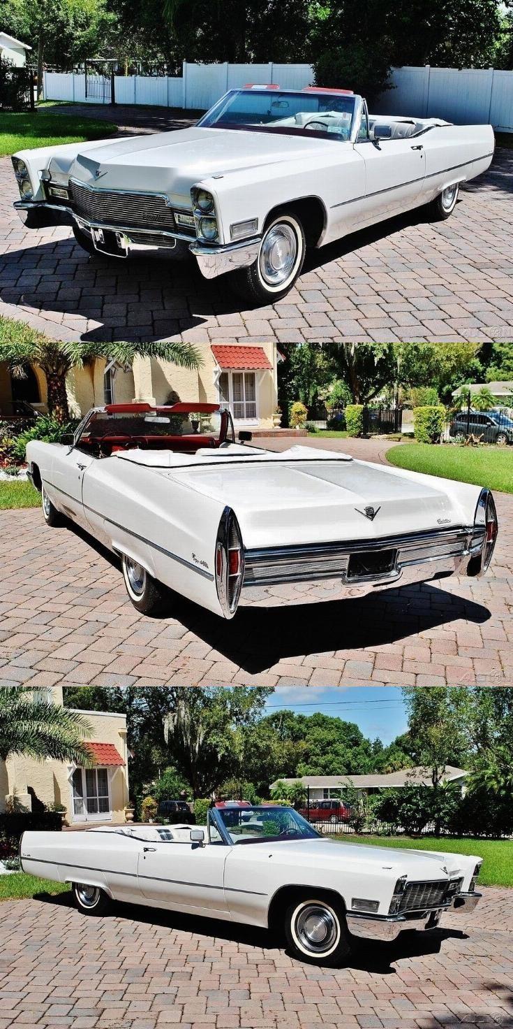 neue Lackierung 1968 Cadillac Deville Cabrio,  #cabrio #cadillac #deville #lacki… #Auto