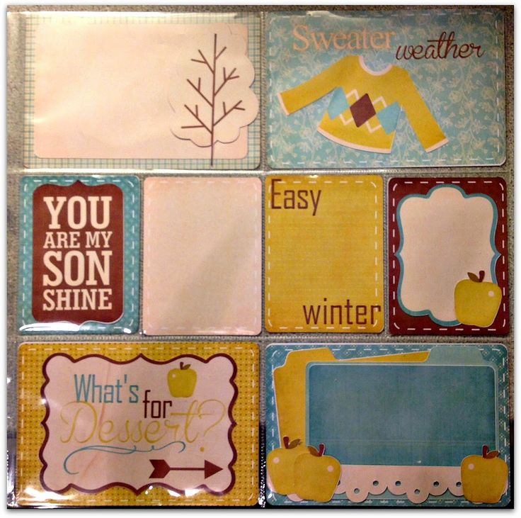Nanne's Creations: Project Life page