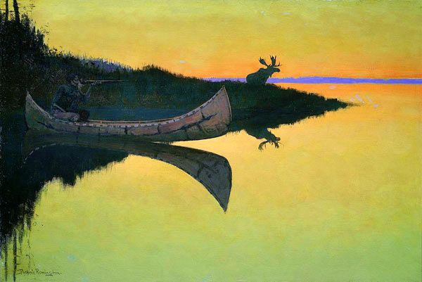 Coming to the Call - Frederic Remington