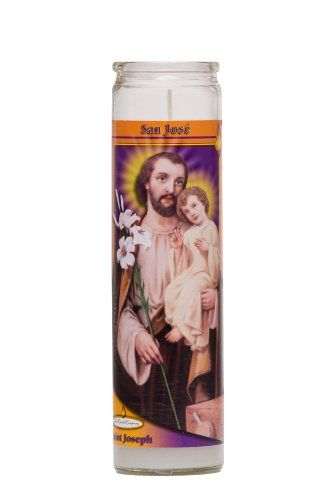 St Joseph Religious Prayer Candle / San José Novena Vigil Candle:   Quantity : 1 CandlebrbrOur popular St Joseph Candle includes a St Joseph in English and Spanish novena. All Reed Candle's are made with the highest quality materials and care. When ordering, please note that a $8.75 shipping fee is charged for your first prayer candle and an additional $1.50 for each candle added to your cart. Shipping fees vary for Packs of 12,6,3 and 2. brbrTenga en cuenta, Reed Candle cobra 8.75 dol...
