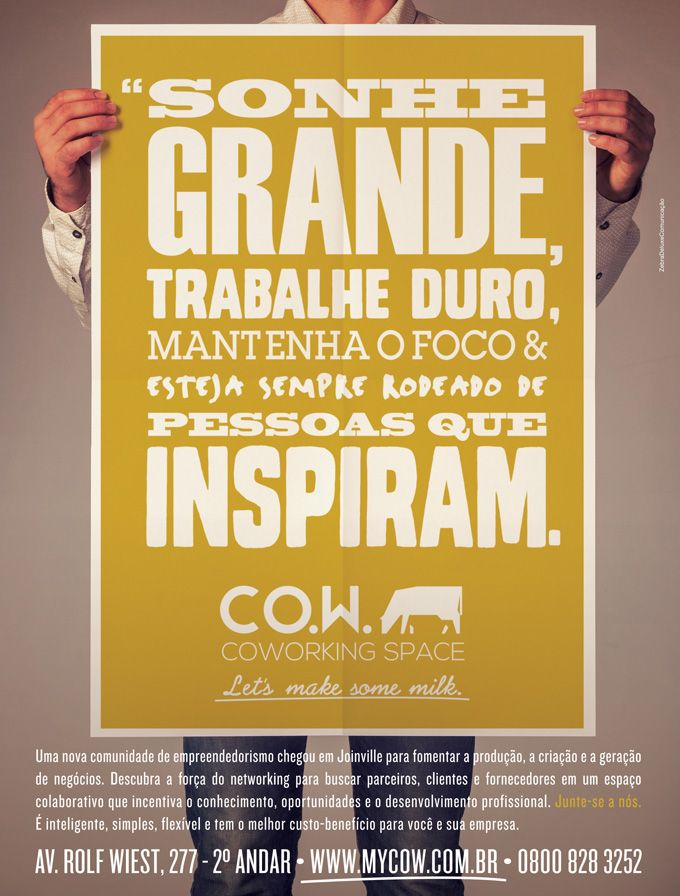 Sonhe Grande  //  CO.W. COWORKING SPACE | CO.W. COWORKING SPACE
