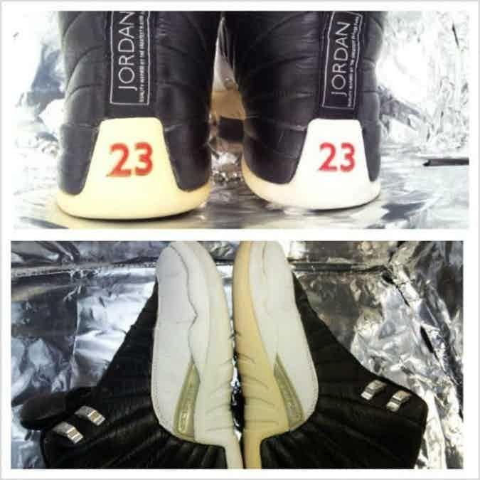 Yellow sneakers, White jordan shoes
