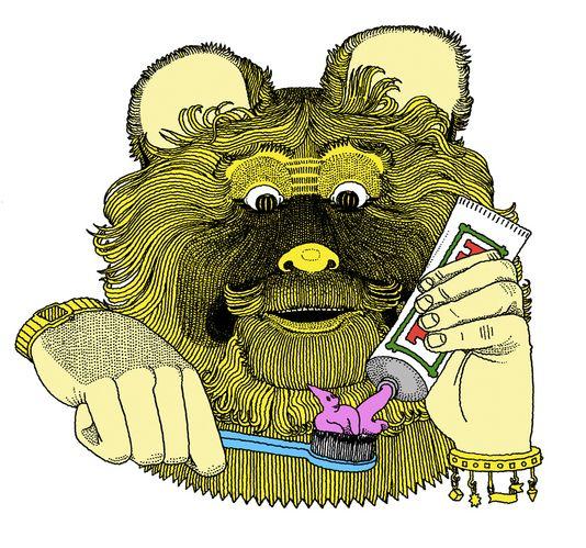 Bear by Jim Stoten