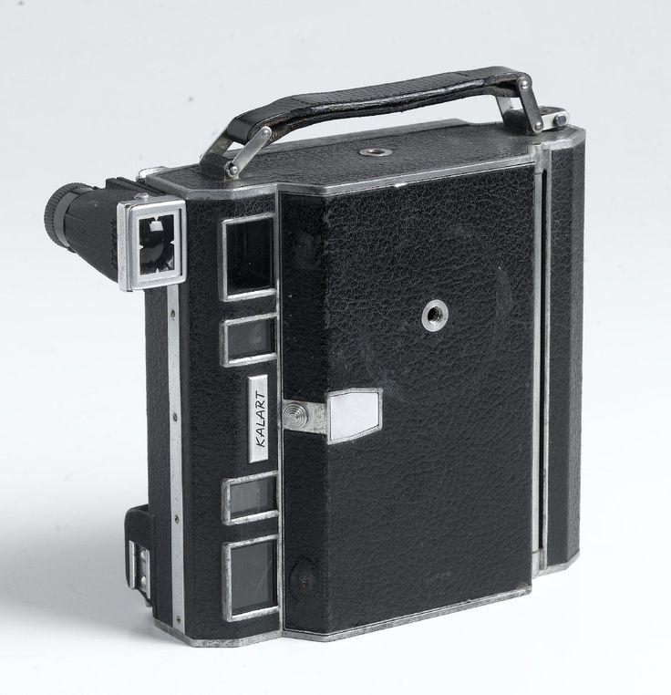 Vintage 1948 53 Kalart Press Camera 3 1 4 x 4 1 4 w 127mm Wollensak Raptar Lens   eBay