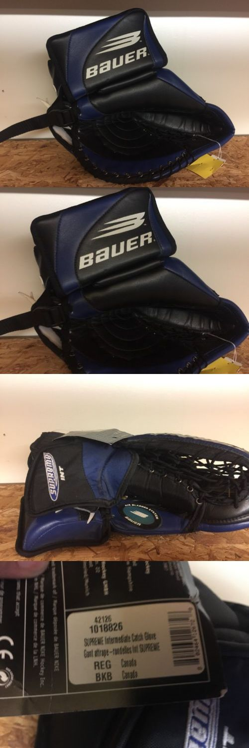 Other Hockey Goalie Equipment 79765: Bauer Supreme Catcher Int. -> BUY IT NOW ONLY: $59.99 on eBay!