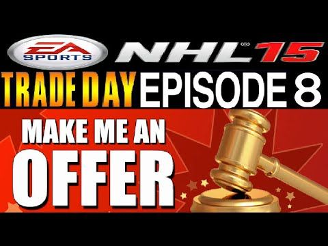 NHL 15 HUT Trade Day #8 **3 Million in Players Available**