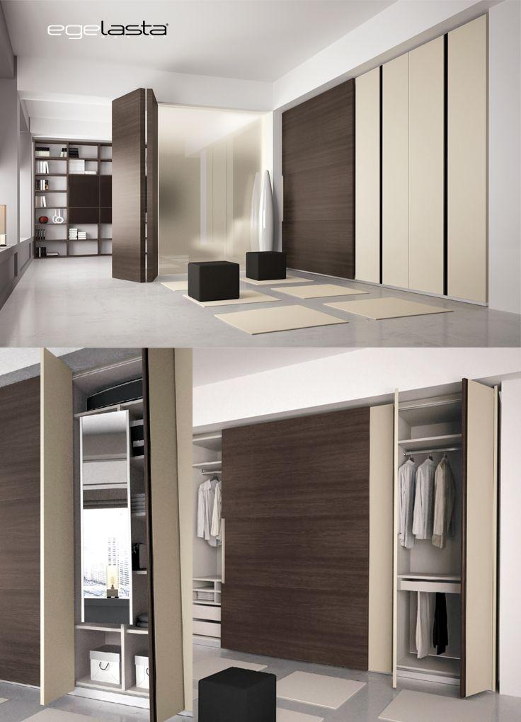Egelasta open nexus 206 mueble moderno puertas - Mueble puertas correderas ...