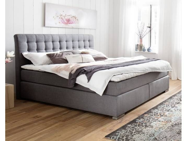 Meise Mobel Boxspringbett Lenno Ohne Matratze 200x200 Cm Ohne An 200x200 Boxspringbet Bedroom Furniture Layout Eclectic Bedroom Master Bedroom Furniture