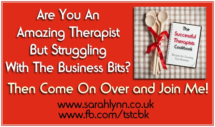 Are you a fabbie therapist but are struggling with the business bits, like your website, social media, money, etc then come on over and join me on my blog