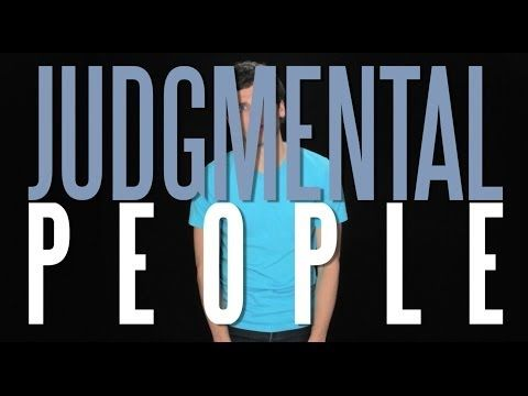I Hate Judgmental People.