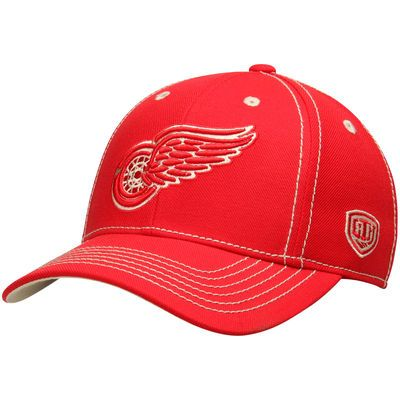 Detroit Red Wings Old Time Hockey Keeper Structured Adjustable Hat - Red
