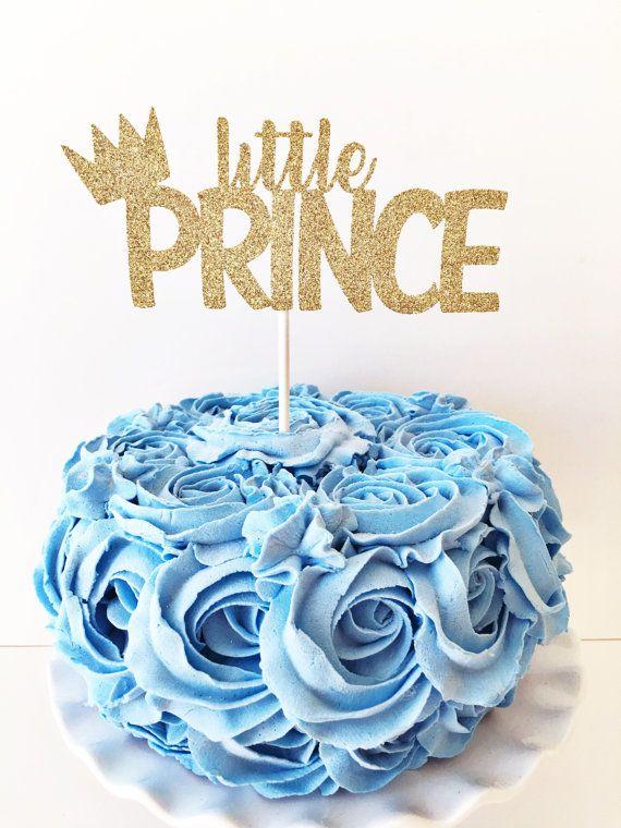 Little Prince Cake Topper / Little Prince by GlitterDesignsCo
