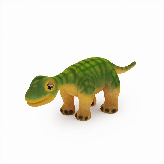 Dino 3D Model .max .c4d .obj .3ds .fbx .lwo .stl @3DExport.com by tai11