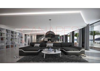 canap dangle design en cuir kronos xl - Les Plus Design Des Salons Dangle Italienne