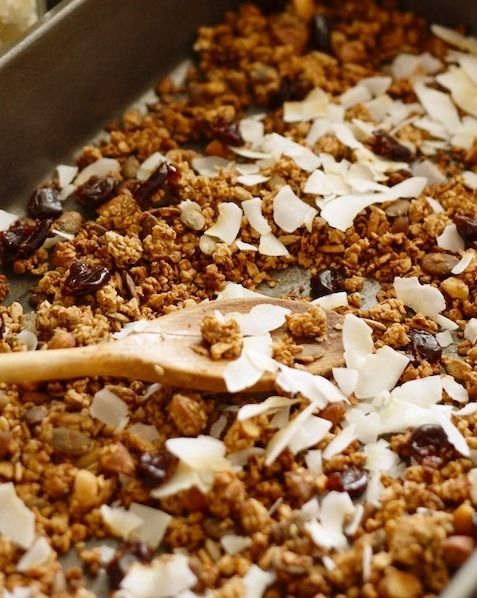 Granola – erg gezond en lekker (recept). - Plazilla.com