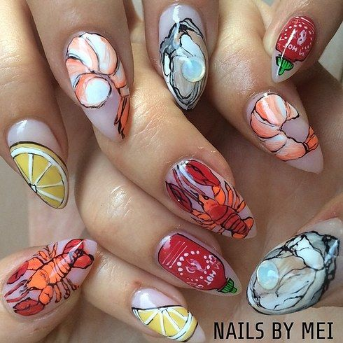 20 best maine nail art images on pinterest nail design nail 17 nail art salons you have to visit before you die prinsesfo Images