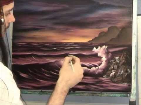Some good techniques, love the sky. Seascape Oil Painting Lesson
