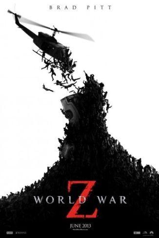 El cartel de Guerra Mundial Z (World War Z)