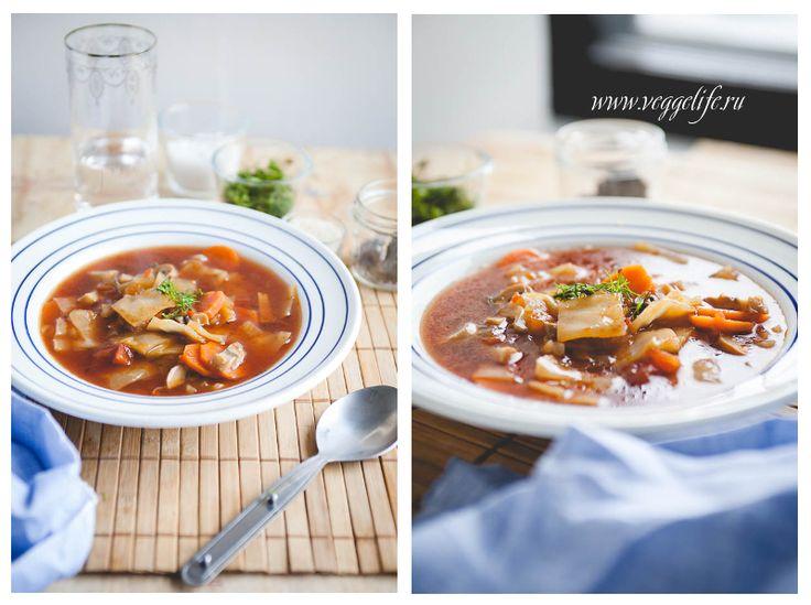 Кисло-сладкий острый суп с капустой (ВЕГАН) | Ни рыбы, ни мяса